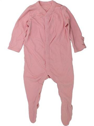 Pyjama 1 pièce fille LILY & DAN rose 9 mois été #1438234_1