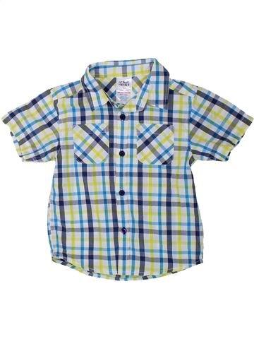 Chemise manches courtes garçon URBAN RASCALS gris 4 ans été #1438258_1