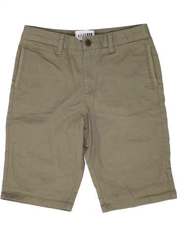 Short - Bermuda garçon DUDES marron 11 ans été #1438818_1