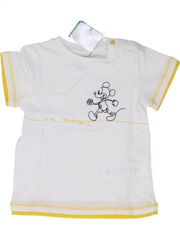 T-shirt manches courtes garçon ORCHESTRA blanc 9 mois été #1439186_1