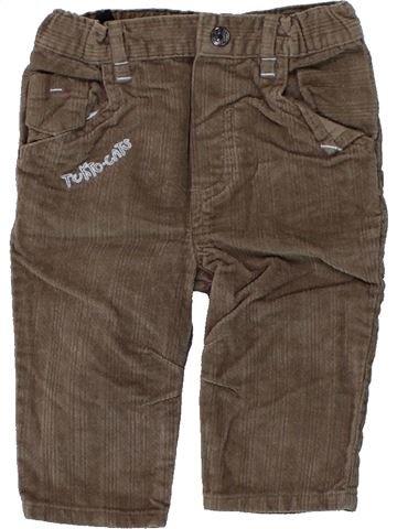 Pantalon garçon TOUT COMPTE FAIT marron 6 mois hiver #1439240_1