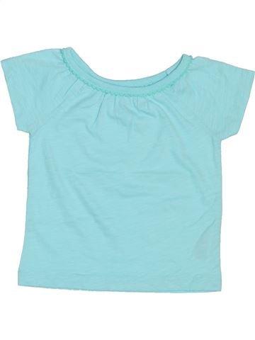 Camiseta de manga corta niña CARTER'S azul 12 meses verano #1439847_1