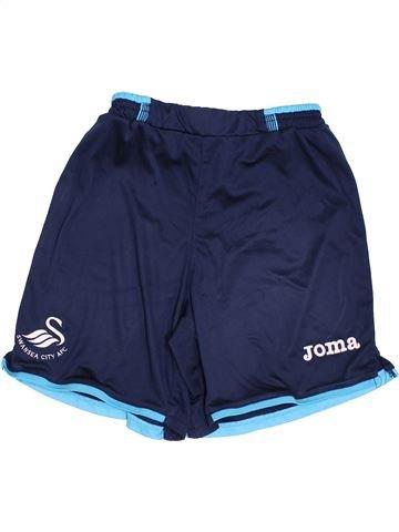 Short de sport garçon JOMA bleu 10 ans été #1439936_1