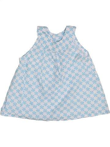 Blusa de manga corta niña IMPIDIMPI gris 6 meses verano #1440026_1