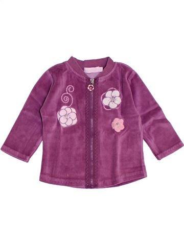 Gilet fille KIMBALOO violet 6 mois hiver #1441121_1