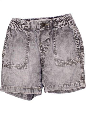 Short - Bermuda garçon ZARA gris 12 mois été #1442212_1