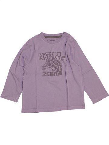 T-shirt manches longues garçon VERTBAUDET gris 4 ans hiver #1442337_1