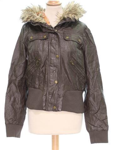 Vestes cuir simili femme NEW LOOK 40 (M - T2) hiver #1442573_1