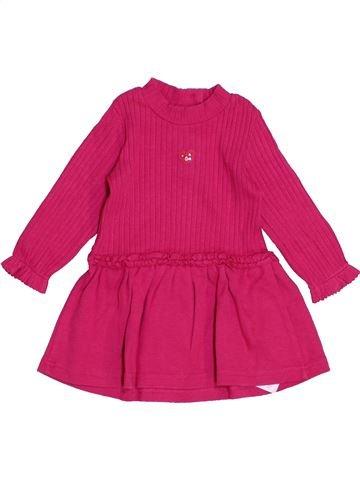 Vestido niña ABSORBA rosa 6 meses invierno #1442582_1