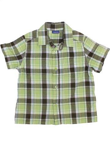 Camisa de manga corta niño CHEROKEE verde 4 años verano #1443124_1