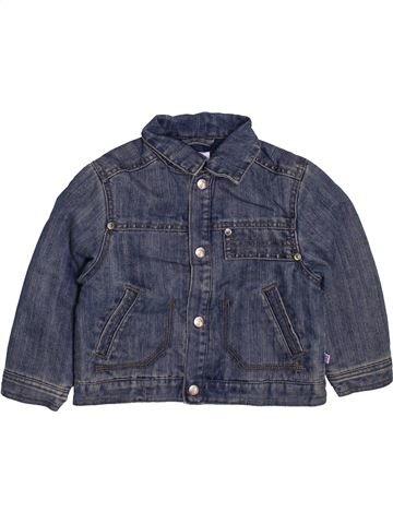 Veste garçon OKAIDI bleu 12 mois hiver #1443424_1