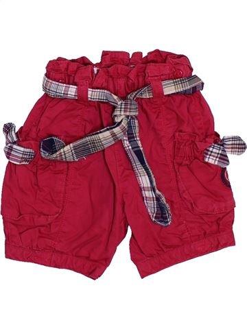 Short-Bermudas niña SERGENT MAJOR rojo 6 meses verano #1443483_1