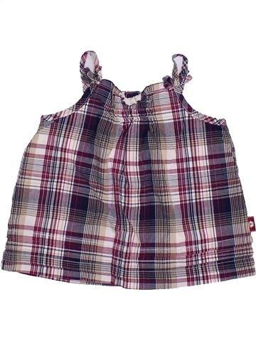 Blusa de manga corta niña SERGENT MAJOR violeta 6 meses verano #1443485_1