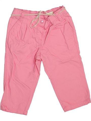 Pantalon fille VERTBAUDET rose 3 ans été #1443930_1