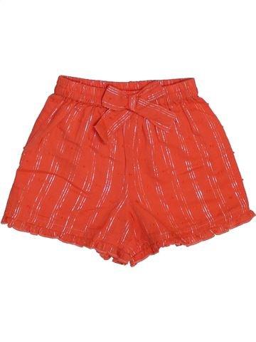 Short-Bermudas niña MONSOON rojo 6 meses verano #1444745_1