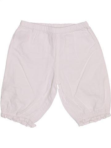 Pantalón corto niña MONSOON blanco 12 meses verano #1445135_1