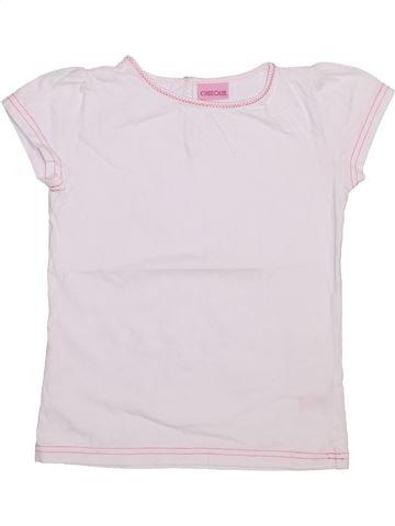 Camiseta de manga corta niña CHEROKEE blanco 7 años verano #1445575_1