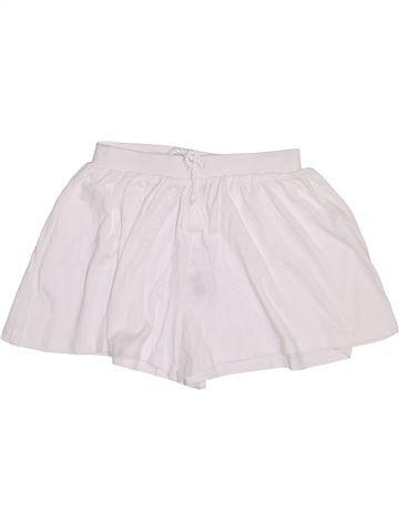 Short - Bermuda fille I LOVE GIRLSWEAR blanc 9 ans été #1445691_1