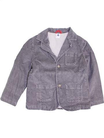 Veste garçon PETIT BATEAU gris 6 ans hiver #1445809_1