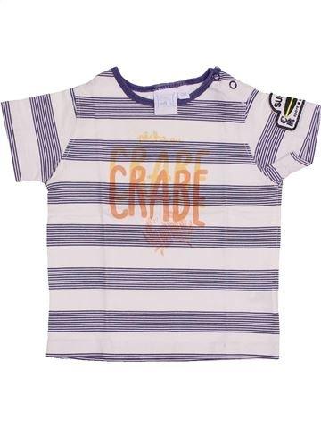 Camiseta de manga corta niño CADET ROUSSELLE blanco 6 meses verano #1446112_1
