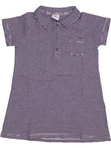 Vestido niña PETIT BATEAU violeta 18 meses verano #1446119_1