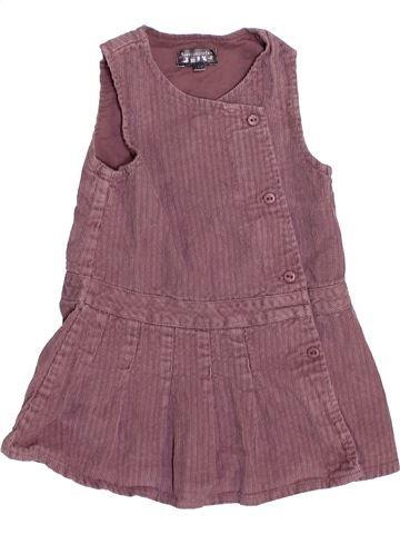 Vestido niña TOUT COMPTE FAIT violeta 18 meses invierno #1446365_1