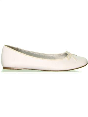 Bailarinas niña OKAIDI blanco 35 verano #1446429_1