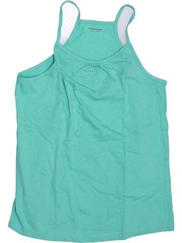 T-shirt sans manches fille VERTBAUDET bleu 10 ans été #1446478_1