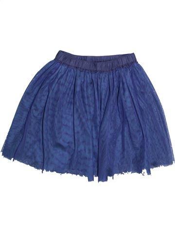Jupe fille CYRILLUS bleu 10 ans hiver #1446498_1