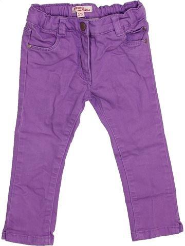 Jean fille DPAM violet 2 ans hiver #1446532_1
