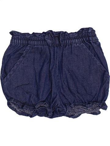 Short - Bermuda fille DPAM bleu 3 mois été #1446927_1