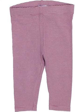 Legging fille OKAIDI violet 6 mois hiver #1446991_1