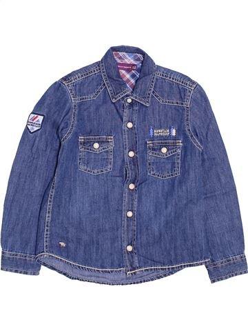 Chemise manches longues garçon SERGENT MAJOR bleu 5 ans hiver #1447472_1