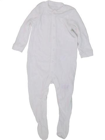 Pyjama 1 pièce unisexe MOTHERCARE blanc 18 mois été #1447495_1