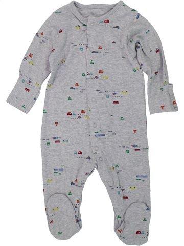 Pyjama 1 pièce garçon MOTHERCARE gris 6 mois été #1447667_1