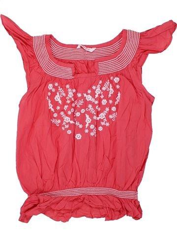 Blusa de manga corta niña MISS E-VIE rosa 13 años verano #1447851_1