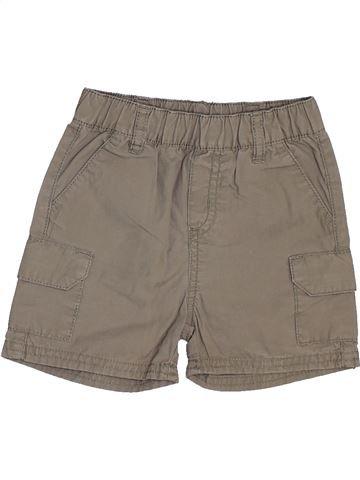 Short - Bermuda garçon GRAIN DE BLÉ marron 12 mois été #1448060_1