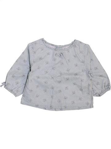 Blusa de manga larga niña SERGENT MAJOR gris 9 meses invierno #1448139_1