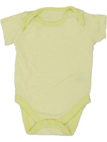 T-shirt manches courtes garçon MINI CLUB vert 6 mois été #1448179_1