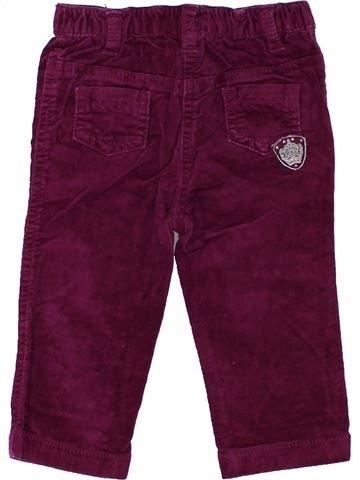 Pantalon fille ORCHESTRA violet 9 mois hiver #1448334_1