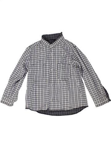 Chemise manches longues garçon PETIT BATEAU gris 3 ans hiver #1448406_1