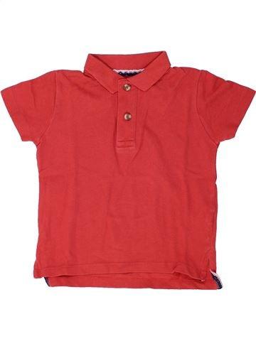 Polo de manga corta niño MONOPRIX rojo 4 años verano #1448415_1