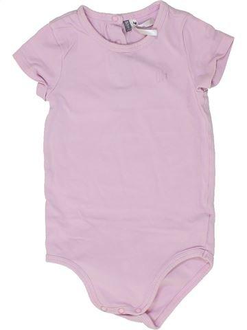 T-shirt manches courtes fille ORCHESTRA rose 2 ans été #1448477_1