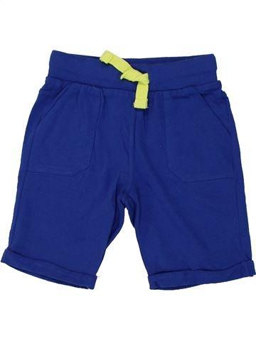 Short - Bermuda garçon F&F bleu 3 ans été #1448518_1