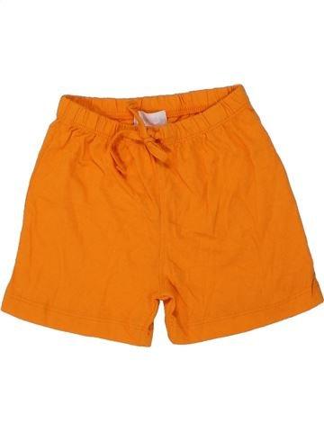 Short - Bermuda garçon BLUKIDS orange 6 mois été #1448687_1