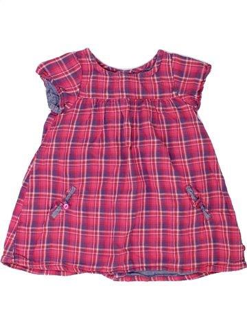Robe fille OKAIDI rose 18 mois hiver #1448712_1