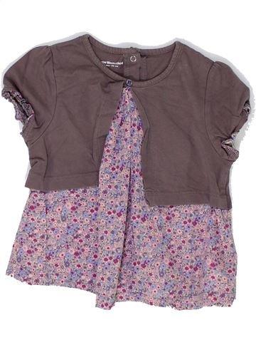 T-shirt manches courtes fille VERTBAUDET violet 2 ans été #1448734_1