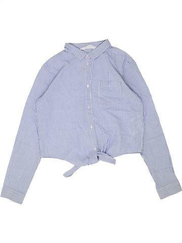 Blusa de manga larga niña H&M azul 12 años invierno #1448856_1