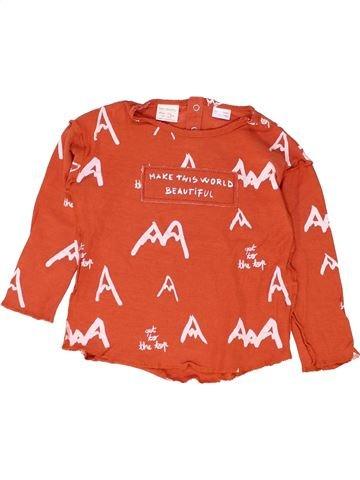 T-shirt manches longues garçon ZARA rouge 4 ans hiver #1449029_1