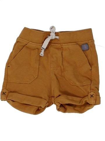 Short-Bermudas niño OKAIDI marrón 6 meses verano #1449093_1
